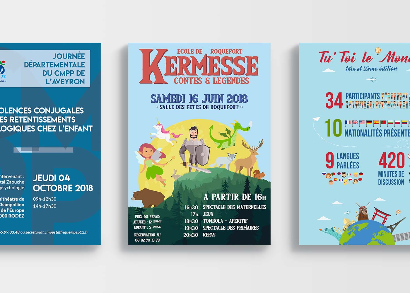 Affiches & infographies